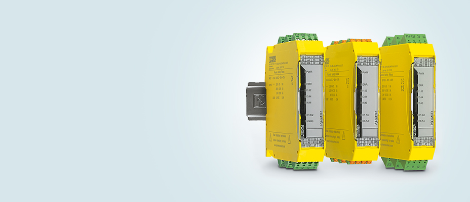 Multifunctional safety relays