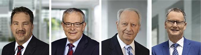 Carsten Buch, Dr. Ing. Reinhard Hüppe, Klaus Eisert, Roland Bent