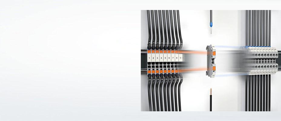 PTV側面接続式端子台