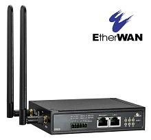 デュアルSIM対応SIMフリー 産業用4Gルータ「EW50」