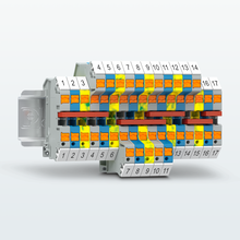 Terminal blocks with Push-in connection – lateral conductor connection for a better overview