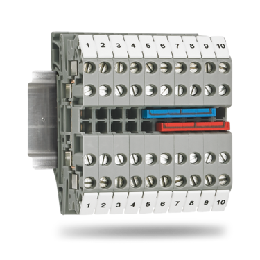 Multi-conductor terminal block