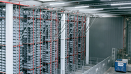 Easy-to-deploy wireless system increases warehouse uptime