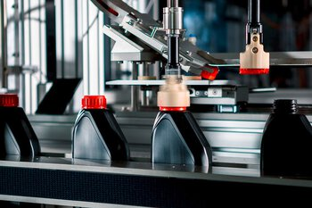 Trepak production line for filling of liquid products