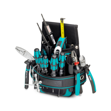 Tool set with hand tools