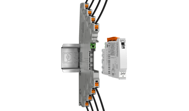 Surge protection for measurement technology