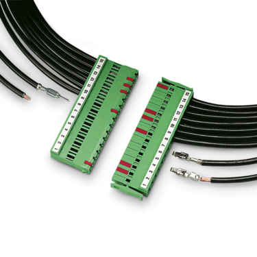 PCB connector with crimp contacts