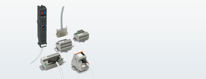 Industry-suitable wiring