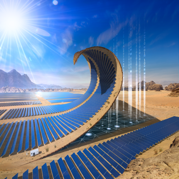 Integrated solar park management system from Phoenix Contact