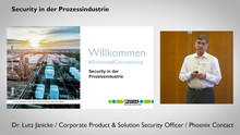 Security in der Prozessindustrie