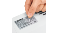 Etiketten mit Schutzlaminat  – Sicherer Schutz gegen äußere Einflüsse