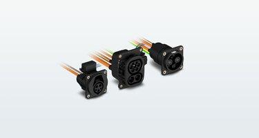 Prises de recharge CCSCHARXconnect pour les véhicules électriques
