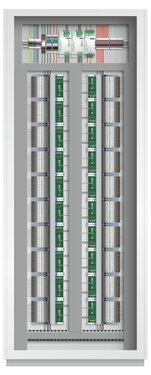 MINI Analog Pro Termination Carrier in the control cabinet