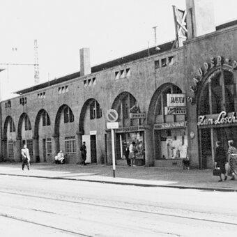 Arcades de la gare centrale d'Essen