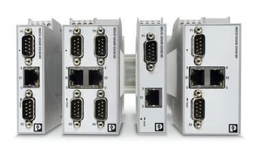 Various versions of serial device servers as multi-port devices
