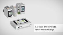 Elektronikgehäuse mit Displays und Keypads