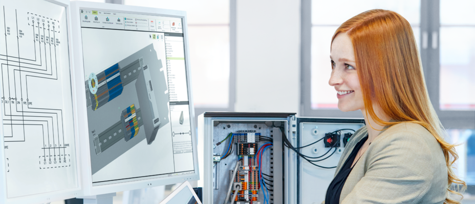Engineering software for control cabinet manufacturing