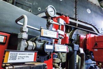 K+S potash plant marking system