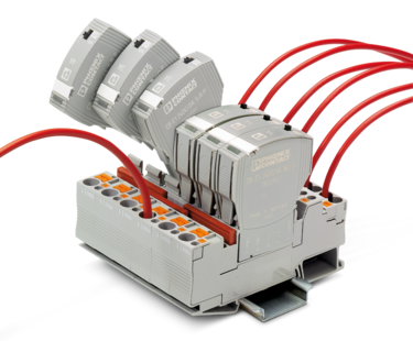 The circuit breakers in the CB E family consist of base elements and plugs