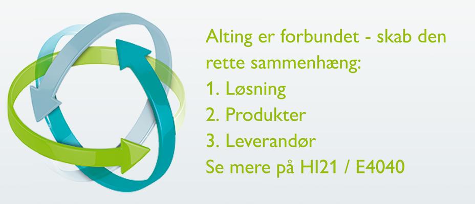 Find sammenhængen på HI 2021 / stand E4040