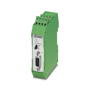 Active termination for PROFIBUS and RS-485 networks