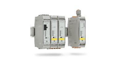 I/O-Link를 사용해 하이브리드 모터 스타터를 손쉽게 네트워크화