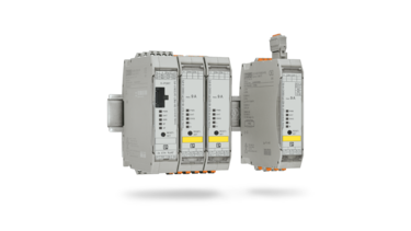 Network hybrid motor starters easily with IO-Link