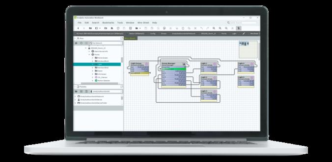 Emalytics building management system Workbench
