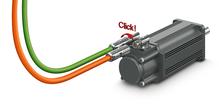 Quick-locking circular connectors