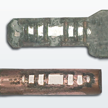Corrosion, contact zone, ferrule