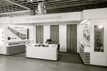 Phoenix Contact exhibition booth in 1960