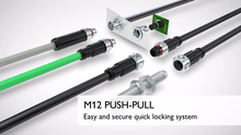 M12 Push-Pull connectors