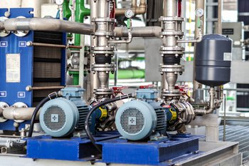 Rotating equipment in the process industry