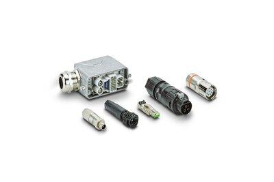 장치 연결 및 필드 케이블링용 커넥터 및 케이블