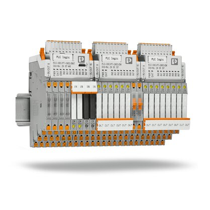 Logic modules – Extremely compact control and switching