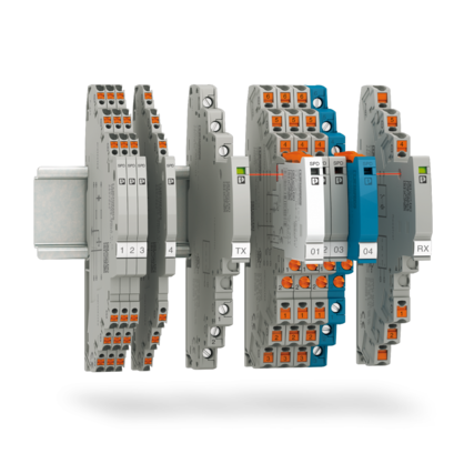 Surge protection for MCR technology and signals
