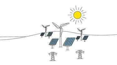 Omzetting van primaire energie in andere energiebronnen via Power-to-X-processen