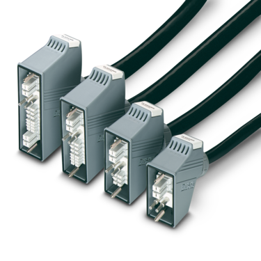 Rectangular connectors with sleeve housings