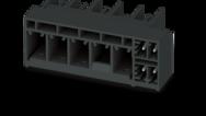 Rozteč 7,62mm (hybridní kontaktní lišty)