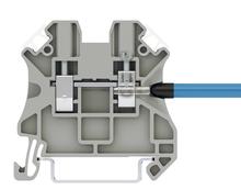 Klasyczne modułowe złączki szynowe z zaciskiem śrubowym