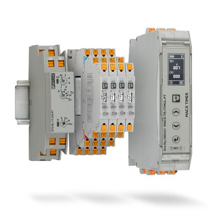 Time relays for simple time control applications