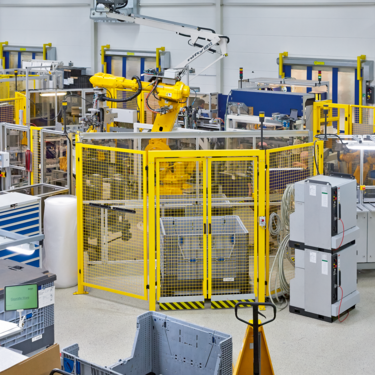Filtration and fluid management production hall at Hengst SE & Co. KG