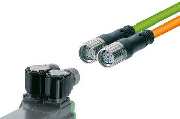 Robuuste ronde connectoren voor signalen en vermogen