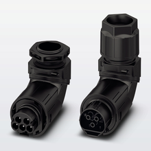 Angled connectors