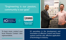 ICI Electrical Engineering joins Phoenix Contact as a Authorized Solution Partner