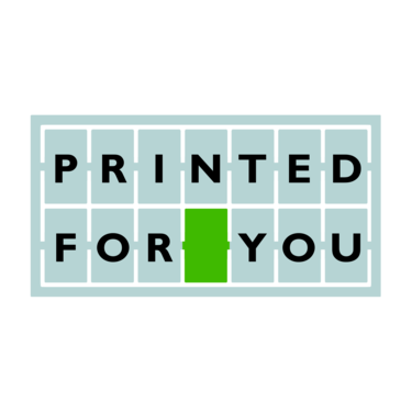 Символ «Printed for you»