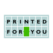 """Printed for you"" symbol"