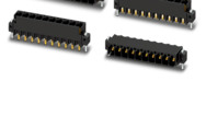 2.54mm pitch (headers for THR/SMT soldering, single-row)