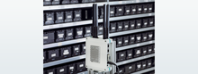 Universal electronics housing in logistics: Up to 1500 fill levels are sent to the cloud via the IoT gateway