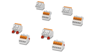 Konektory push-in sroztečí 3,5mm– pro pouzdra elektroniky řady ICS
